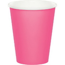 Creative Converting 563042 Candy Pink Hot/Cold Cups, 9 Oz., CASE of 96