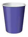 Creative Converting 563268 Purple 9 Oz Hot/Cold Cup (Case of 96)