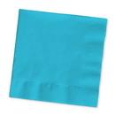 Creative Converting 571039B Bermuda Blue Beverage Napkin, 3 Ply, Solid (Case of 500)