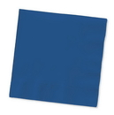 Creative Converting 571137B Navy Beverage Napkin, 3 Ply, Solid (Case of 500)