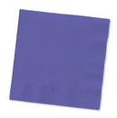 Creative Converting 57115B Purple Beverage Napkin, 3 Ply, Solid (Case of 500)