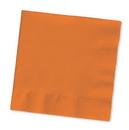 Creative Converting 57191B Sunkissed Orange Beverage Napkin, 3 Ply, Solid (Case of 500)
