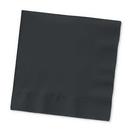 Creative Converting 58134B Black Velvet Luncheon Napkin, 3 Ply, Solid (Case of 500)