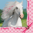 Creative Converting 655601 Heart My Horse Beverage Napkins (Case of 192)