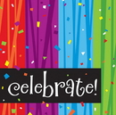 Creative Converting 661683 Milestone Celebrations Celebrate 3-Ply Lunch Napkins (Case of 192)
