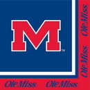Creative Converting 664893 University Of Mississippi 2-Ply Lunch Napkins (Case of 240)