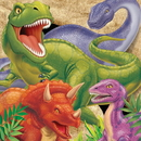 Creative Converting 665012 Dino Blast 3-Ply Lunch Napkins (Case of 192)