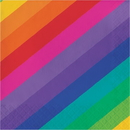 Creative Converting 665972 Rainbow Luncheon Napkin (Case Of 12)