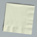 Creative Converting 669161B Ivory Luncheon Napkin, 2 Ply, Solid (Case of 600)
