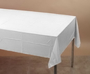 Creative Converting 710241B White Tissue/Poly Tablecover 54 X 108 Solid (Case of 24)
