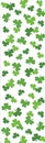 Creative Converting 724391 St Pats Décor Plastic Tablecover, 54