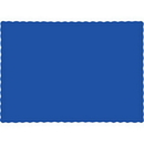 Creative Converting 863147B Cobalt Placemats, CASE of 600