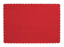 Creative Converting 863548B Classic Red Placemat, 9.5 X 13.375 Solid (Case of 600)