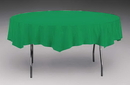 Creative Converting 923261 Emerald Green Tissue/Poly Tablecover 82