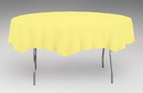 Creative Converting 923266 Mimosa Tissue/Poly Tablecover 82