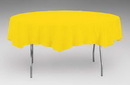 Creative Converting 923269 School Bus Yellow Tissue/Poly Tablecover 82