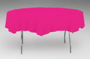 Creative Converting 923277 Hot Magenta Tissue/Poly Tablecover 82