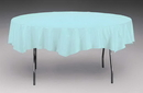 Creative Converting 923882 Pastel Blue Tissue/Poly Tablecover 82