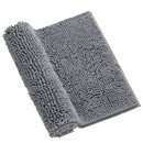 Muka Non-Slip Chenille Absorbent Bath Rug Machine Washable Thick and Soft Door Mat, 16 x 24 inch