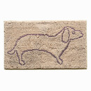 Muka Durable Chenille Door mat for Bedroom/ kitchen /Back Door/ Pet Dog Bed Mat, 30