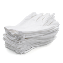 Aspire 12Pairs White Inspection Cotton Men's Gloves Coin Jewelry Silver Handling Glove