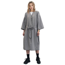TOPTIE Spa Robe Beauty Salon Smock for Women Kimono Client Uniform Polyester Premium Quality Large
