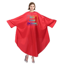 Personalized Barber Cape Salon Robe Gown Protective Coverall, Custom Your Design Image Text Brand