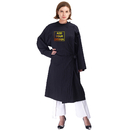 Custom Designed Your Logo Beauty Salon Robes Client Gown Protection Unisex, Adjustable Front Closure