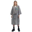 Personalized Design Spa Robe Beauty Salon Smock for Women Kimono Client Protective Uniform