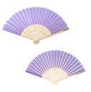 Aspire Custom Silk Hand Fans, 8-1/4 x 15 Inch