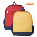 24 Pack Toddler Small Backpack Wholesale Kindergarten Kids Tiny Book Bag Bulk Sale
