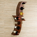 Holly & Martin 93-029-062-3-31 Avila Wall Mount Wine Rack