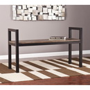 SEI BC5812 Holly & Martin Abachi Bench