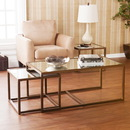SEI CK4047 Nested Cocktail/End Table 3pc Set