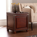 SEI CK5482 Amherst Trunk End Table