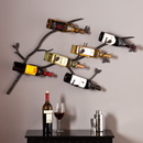 SEI HZ1005 Brisbane Wall Mount Wine Rack