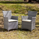 SEI OD7744 Bristow Outdoor Easy Chairs 2pc Set