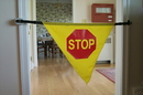 Safe•t mate SM-006 Adjustable Nylon Stop Banner