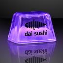 Custom Purple Inspiration Ice Led Cubes - Patent No.D650,121