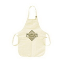 Custom Apron w/Pockets - Natural Color, 22