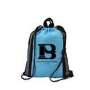 Custom Reflective Strip Cinch Bag, 13.5