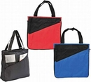 Custom Two Tone Expandable Poly Tote Bag
