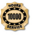 Custom 10000 Hours of Service Deluxe Clutch Pin