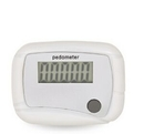 Custom Front Display Rectangular Pedometer/Step Counter, 2