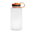 Custom Classic 32oz Tritan Sport Bottle (Orange), 3 5/8