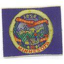 Custom Woven State Flag Applique - Minnesota