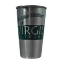 Custom 16 Oz. Stainless Steel Pint Glass, 3 3/8