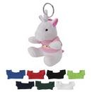 Custom Mini Unicorn Key Chain, 3 1/2