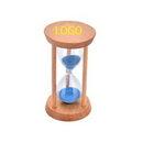 Custom Wooden Hourglass 3 Minutes, 1 7/8