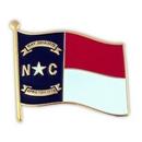 Custom North Carolina State Flag Pin